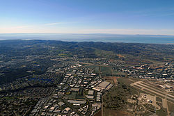 Aerial view of Lake Forest