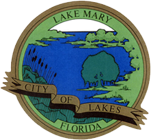 Lake Mary, Florida - Image: Lake Mary, FL city logo