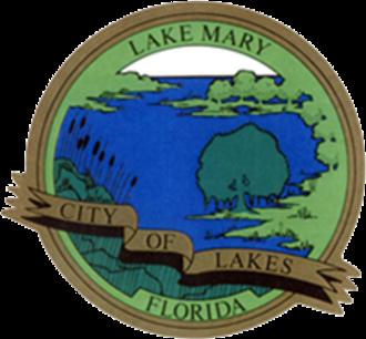 Lake Mary, Florida - Image: Lake Mary, FL city logo
