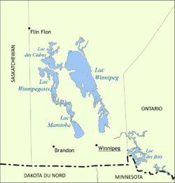 Image illustrative de l'article Lac Winnipegosis
