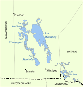 Image illustrative de l'article Lac Manitoba