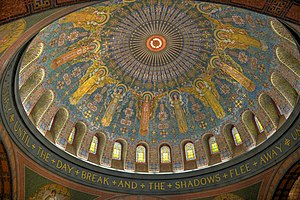 Lakewood Cemetery - Interior of the Memorial Chapel dome