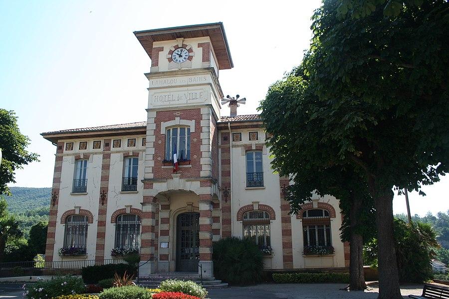 Lamalou-les-Bains - Hérault - mairie.