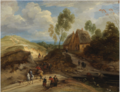 Landscape with Horseman and Peasants .PNG