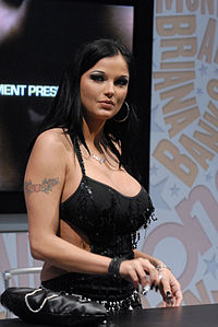 Lanny Barbie at AVN Adult Entertainment Expo 2008.jpg