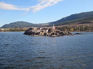 Grant Island Okanagan Lake