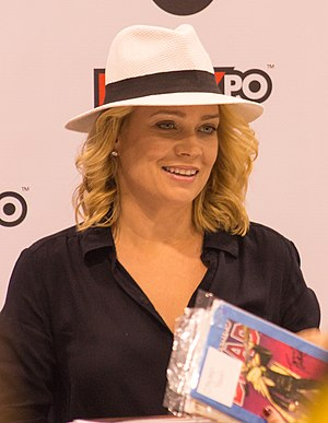 Laurie Holden - Holden at 2013 Toronto FanExpo.