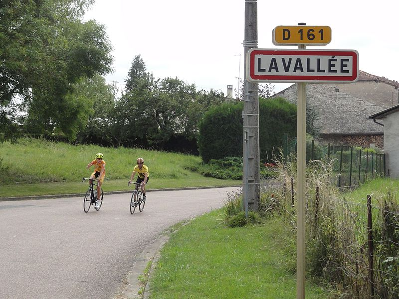 Lavallée (Meuse) city limit sign