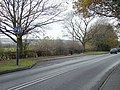 Layby on the A609 - geograph.org.uk - 622420.jpg