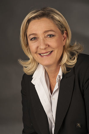 French regional elections, 2015 - Image: Le Pen, Marine 9586
