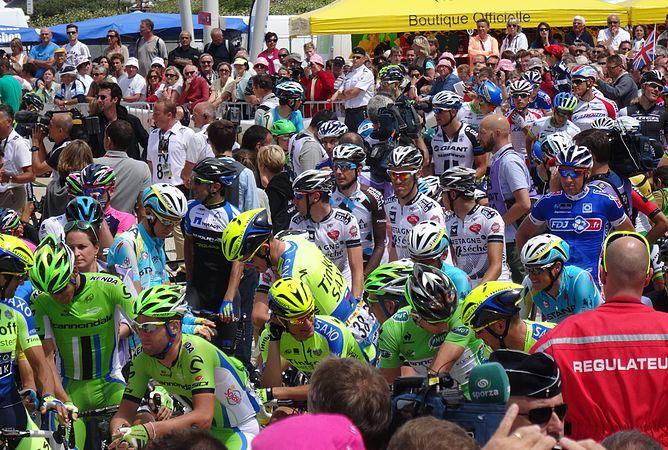 Le Touquet-Paris-Plage - Tour de France, étape 4, 8 juillet 2014, départ (C17).JPG