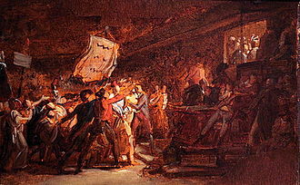Tyrant - François Gérard, The French people demanding destitution of the Tyran on 10 August 1792