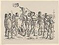 Left Side of King Cochin, from Set of Exotic Races, in Holzschnitte alter Meister gedruckt von den Originalstöcken der Sammlung Derschau im besitz des Staatlichen Kupferstich-kabinetts zu Berlin MET DP834165.jpg