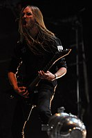 Legion of the Damned, Twan van Geel at Party.San Metal Open Air 2013 02.jpg
