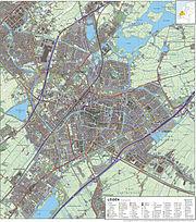 Leiden-topografie