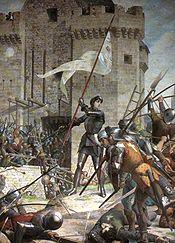 Jeanne d Arc au siège d Orléans par Jules Eugène Lenepveu, 1886-1890, Panthéon de Paris.