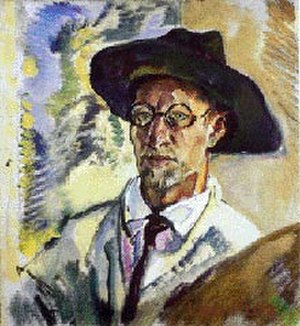 Gauting - Leo Putz 1914 Self-portrait