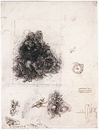 Leonardo da vinci, Study for the Burlington House Cartoon.jpg