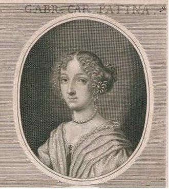 Gabrielle-Charlotte Patin - Gabrielle-Charlotte Patin, engraving by Leonhard Heckenauer