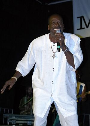 Leroy Sibbles opens the 2006 Caribana festivit...