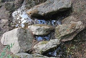 les bassins sur la fontaine de Kermore, Commune Séglien
