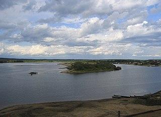 river in Russia