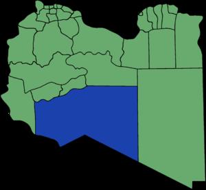 Murzuq District - Pre-2007 extent of Murzuq District
