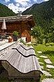 Liegebaenke des Sonnmatten Restaurants mit Sicht auf das Matterhorn - panoramio.jpg