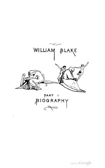Life of William Blake, Pictor ignotus (Volume 1).djvu