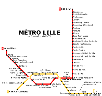 Lille Metro Map.png
