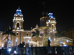 The Lima Cathedral