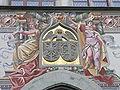 Lindau Rathaus Malerei über dem Portal.JPG