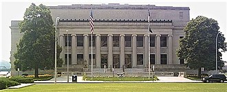 Linn County Courthouse (Iowa) - Image: Linn County Court House