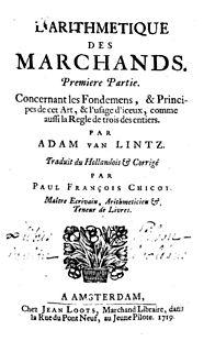 Adam Lintz fl. 1673-1699