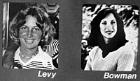 Lisa Levy and Margaret Bowman, victims of Ted Bundy.jpg