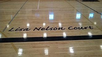 Ralston Valley High School - The basketball court named after Lisa Nelson, who died in 2013 after fighting cancer.