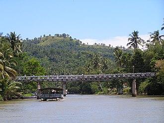 Loboc, Bohol - Image: Lobocrivercruise