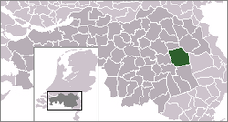 Location of Gemert-Bakel