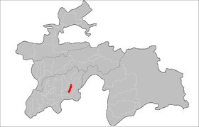 Location of Kulob District in Tajikistan.png