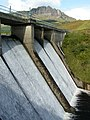 Loch Leathan dam with The Storr behind - geograph.org.uk - 107733.jpg