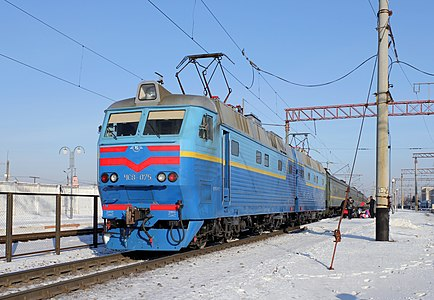 Electric locomotive Škoda ChS8-075