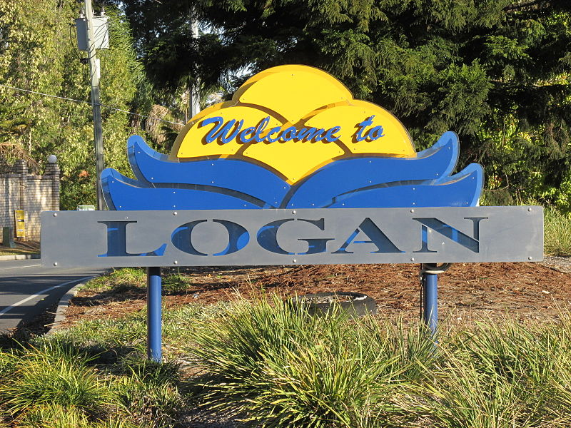 File:Logan welcome Browns Plains ML Hwy 2.jpg