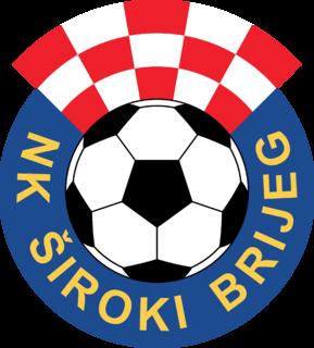 NK Široki Brijeg Association football club in Bosnia and Herzegovina