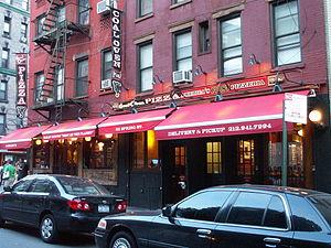 Gennaro Lombardi - Lombardi's Pizza at 32 Spring Street in Little Italy, Manhattan