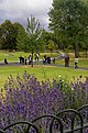 London - Hyde Park - View SE on Diana Memorial Fountain 2004.jpg