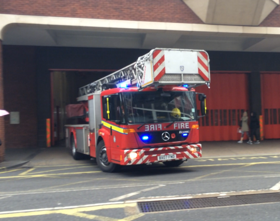 London Fire Brigade Turntable Ladder
