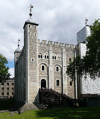 England in the High Middle Ages - The Tower of London, originally begun by William the Conqueror to control London