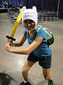 Long Beach Comic & Horror Con 2011 - Finn from Adventure Time (6301178277).jpg