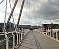 Looking across the River Usk footbridge - geograph.org.uk - 1709130.jpg