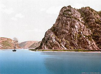 Lorelei - The Lorelei in 1900